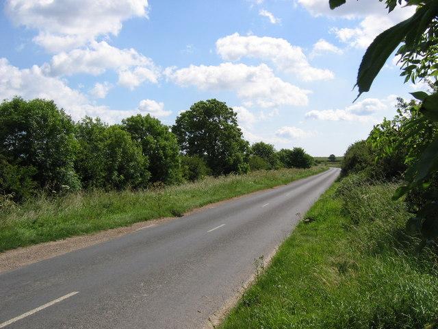 East of Burton Fleming