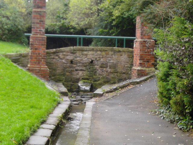 Footbridge over Cat Dene