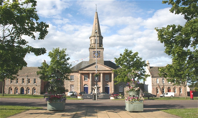 The Square, Fochabers