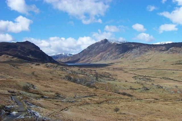 Rocky outcrop near Llyn Cowlyd