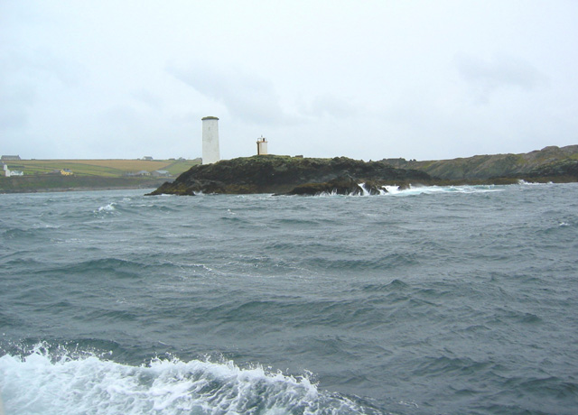 Beacon on Barrack Point, Inishbofin