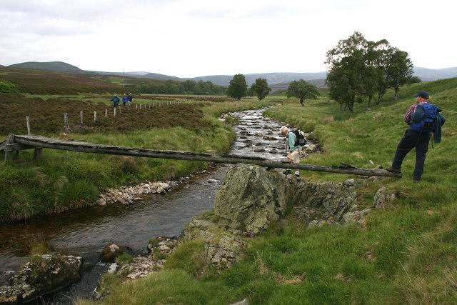 Stalker's Bridge over Water of Tarf