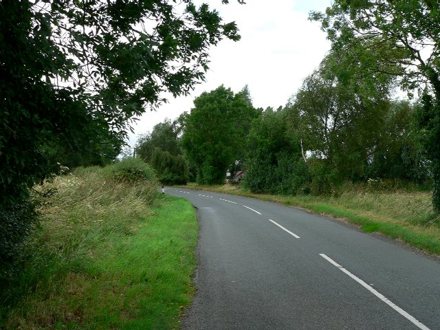 The Road from Barlow towards Selby