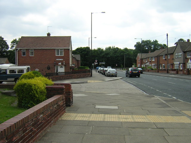 Farringdon houses looking towards Silksworth Lane