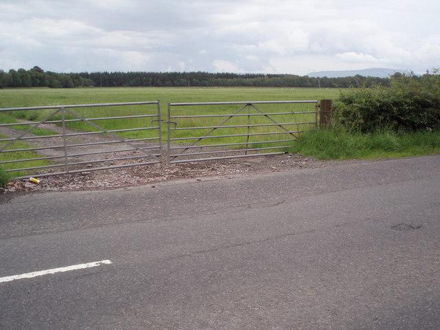 Farm fields near Gartartan