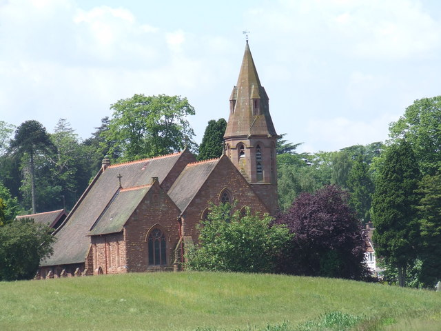 All Saints church, Wribbenhall