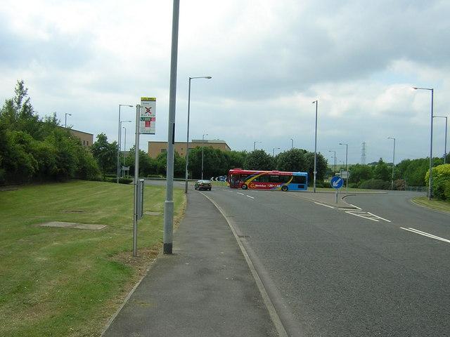 City Way roundabout