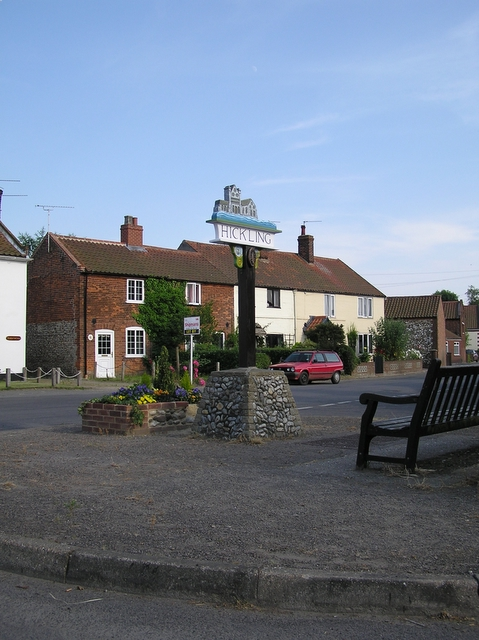 Village sign, Hickling