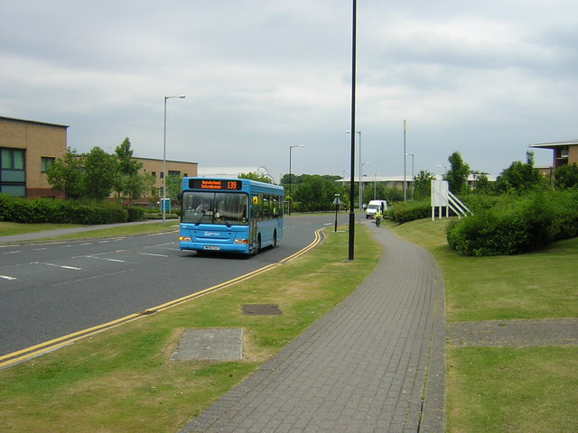 Transport into industrial estate