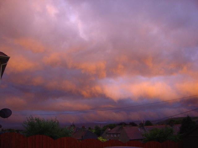 Sky at night.