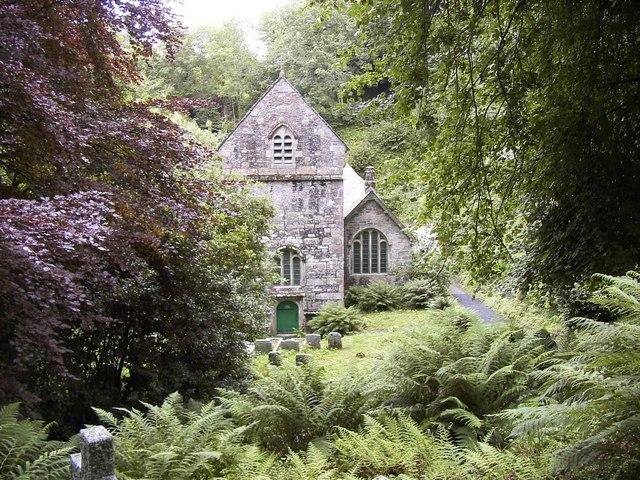 The Church of Saint Merteriana, Minster, Cornwall.