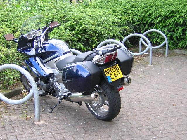 Motorbike park