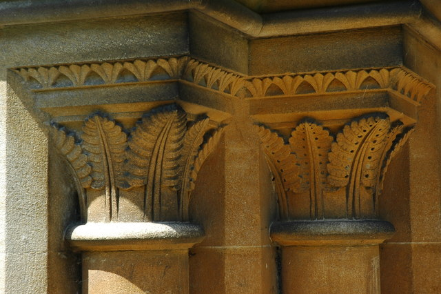 Detail of the Blackmoor church.