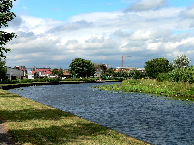 Selby Canal Approaching the River Ouse