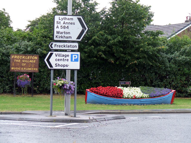 Freckleton - the village of music & flowers