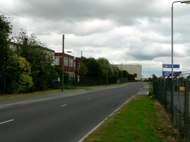 A Tate and Lyle Factory on the Outskirts of Selby