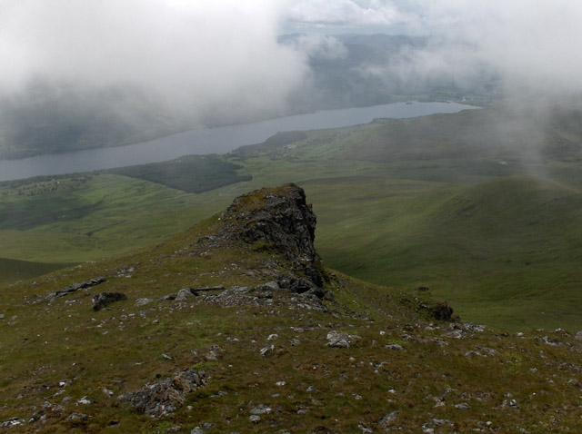 Pinnacle on Beinn Ghlas