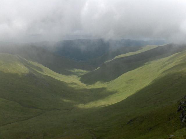 Valley of Allt a' Chobhair
