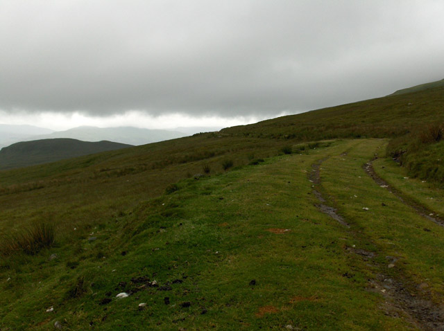 Track on the flank of Ben Lawers