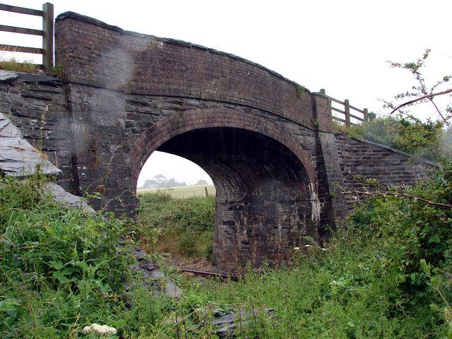 Railway Bridge at Escuan, Tywyn
