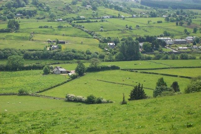 Farmland  near Penmachno