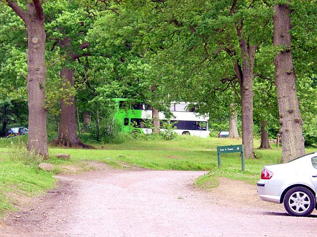 Car Park at Beechenhurst Lodge