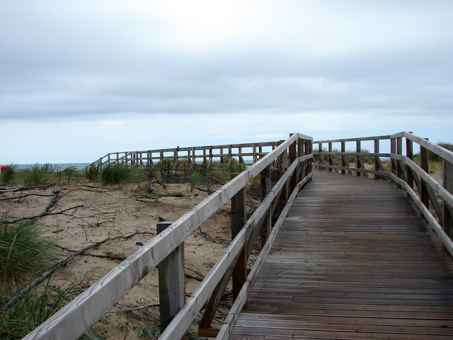 Boardwalk, Aberdovey Golf Course