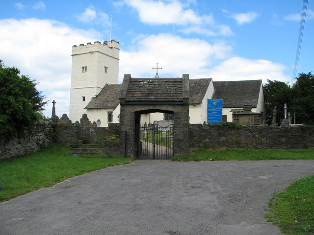 St Sannan's, the parish church of Bedwellty