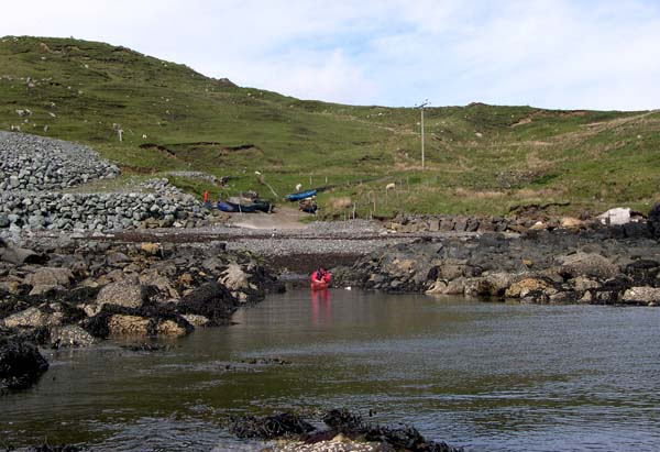 Launching at Port Gobhlaig