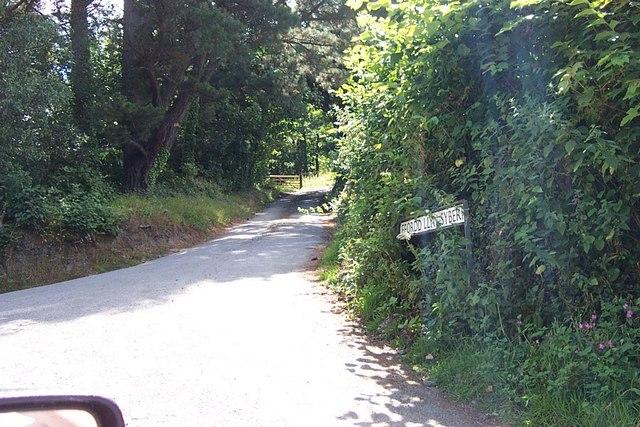 Llyn Syberi road junction