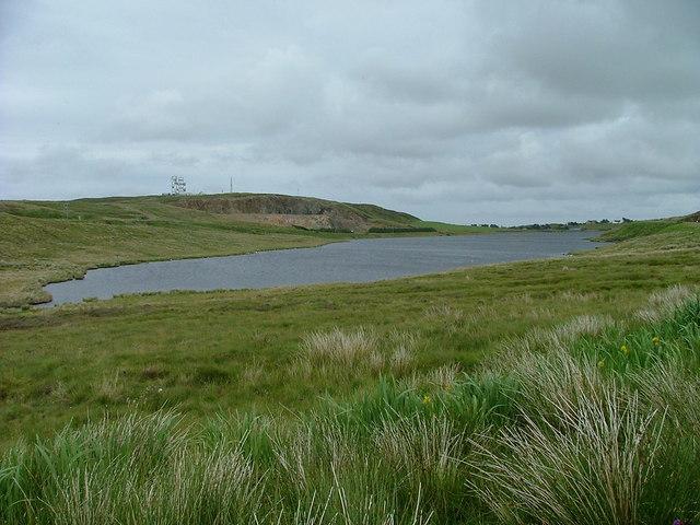 Western End of Loch Airigh na Lic.