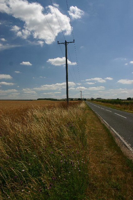 Minor road to Heydon