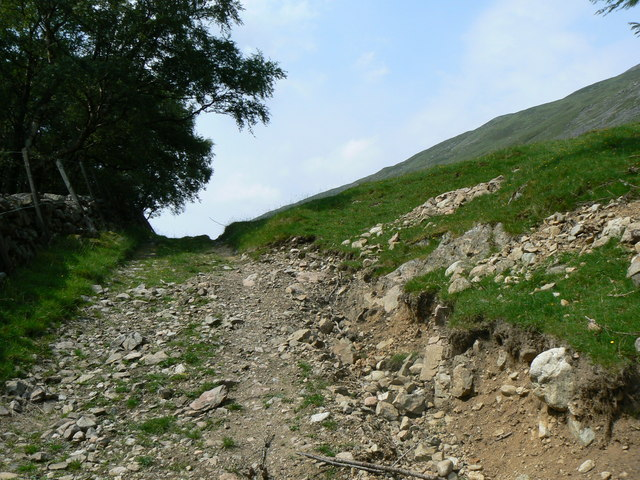 Track to Carn a' Chlamain