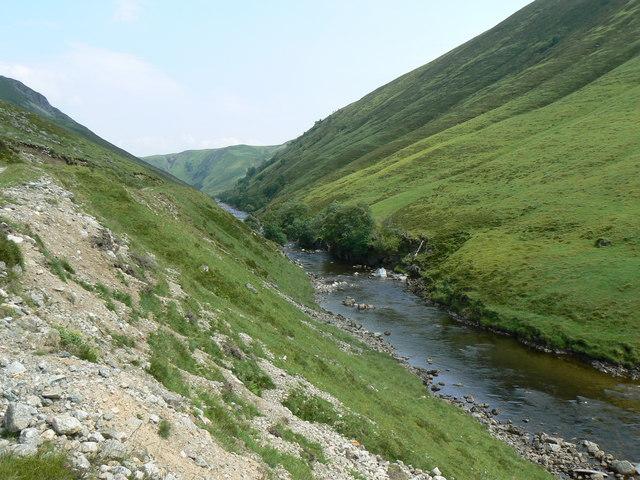 Straight river
