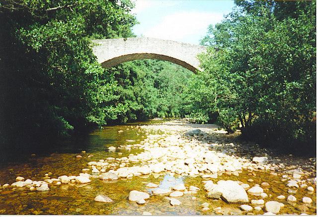 Braeloine Bridge.