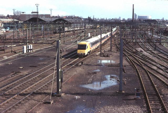 Willesden Junction - APT