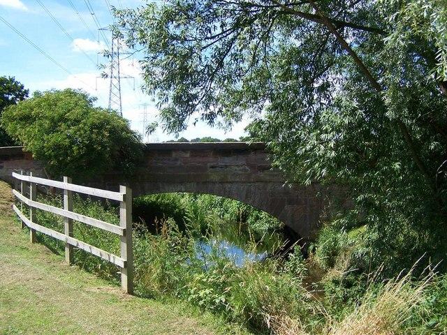 Bridge over River Penk