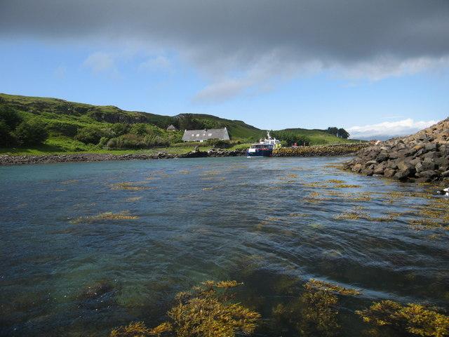 Port Mor, Muck