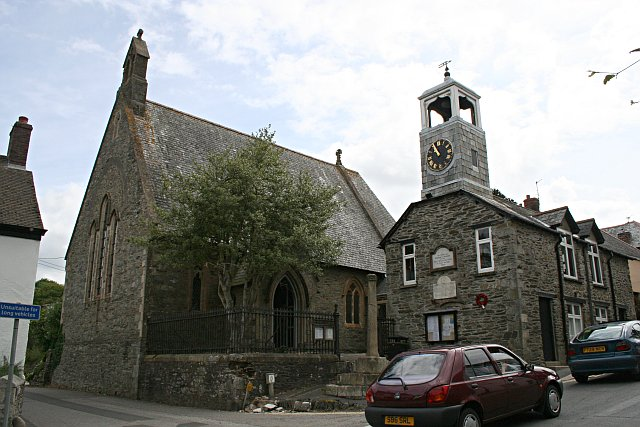 Grampound Church and Town Hall