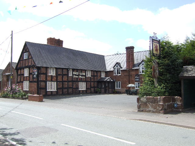 The Red Lion, Myddle