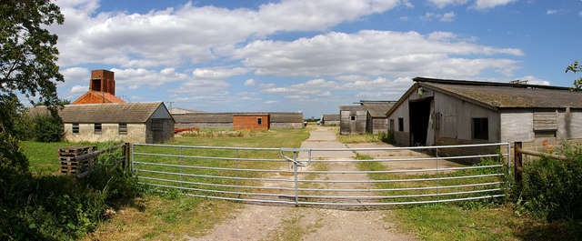 Disused Poultry Farm at New Green