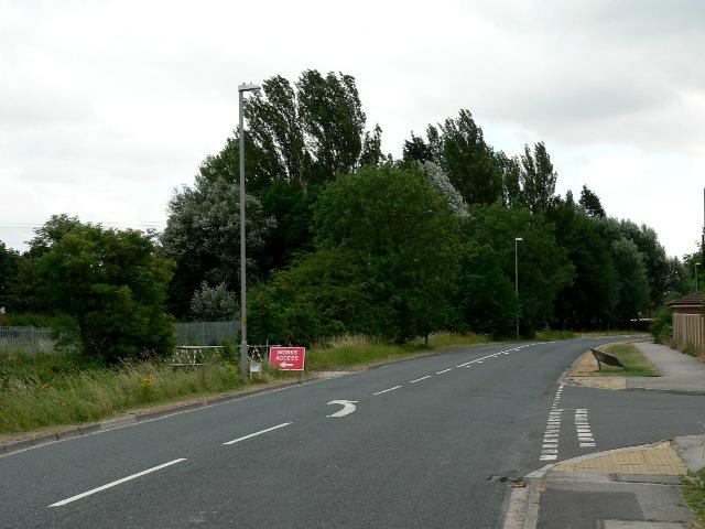 Barlby Road towards Selby
