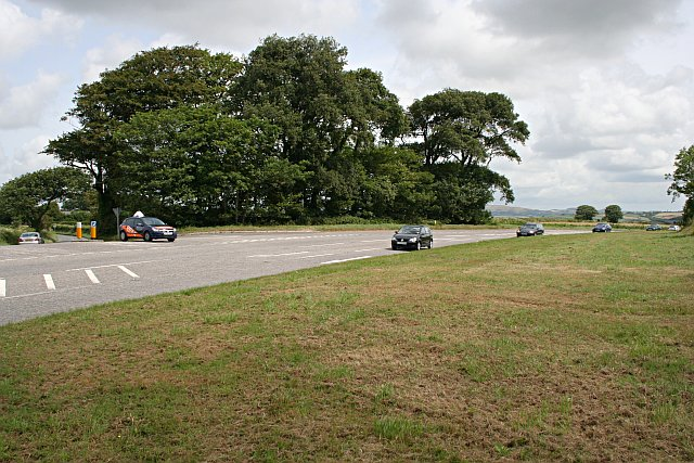 The Main Road between Truro and St Austell