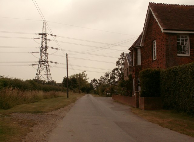Country Lane near Debden Green, Essex