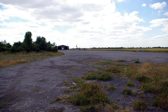 Old Runway at Goxhill Airfield