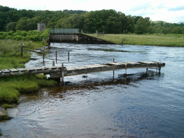 Spillway and jetty