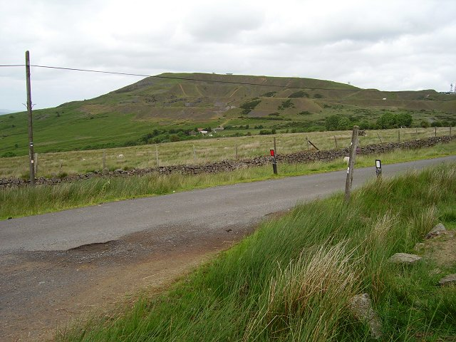 What's left of Clee Hill