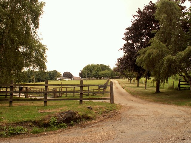 Brick House Farm approach, near Debden, Essex
