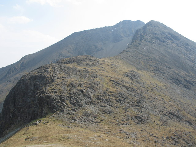 North ridge of Garbh-bheinn
