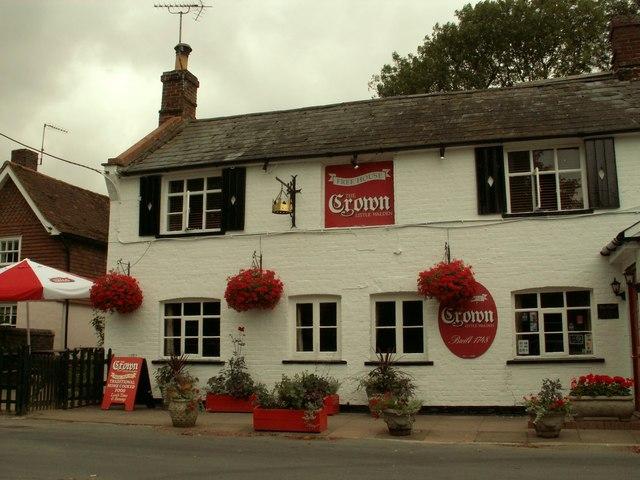 'The Crown' inn, Little Walden, Essex